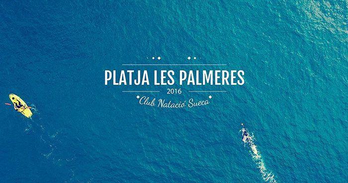 Iª Travessia Platja Les Palmeres con Dron
